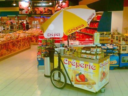 Crêpestand Shop-in-Shop